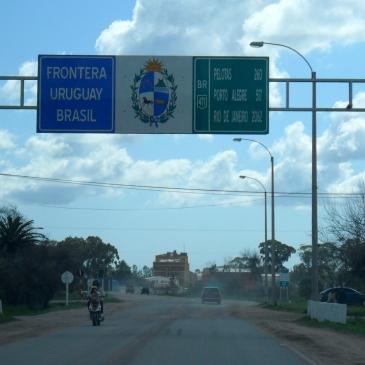 Fronteira Uruguay - Brasil