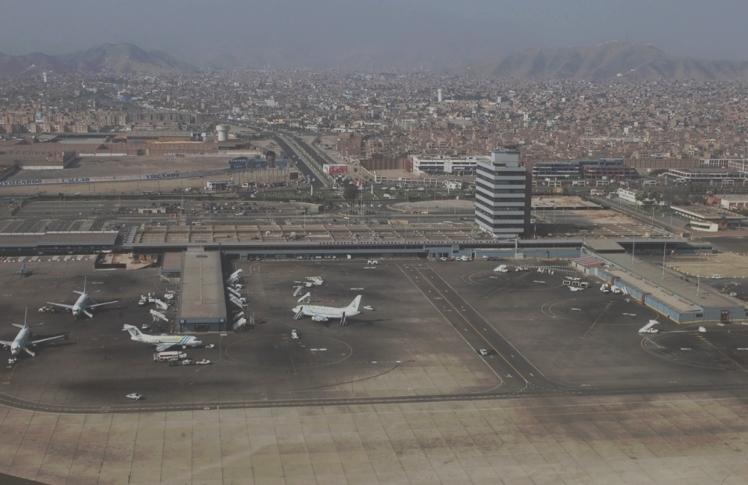 Chegando em Lima