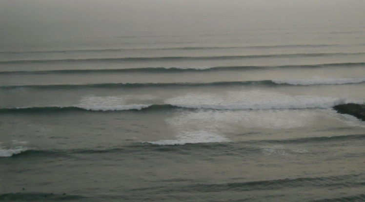 Swell bombando a Costa Verde