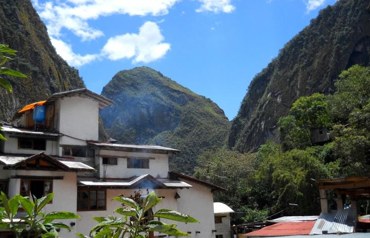 Vista da minha janela do hostel Pirwa