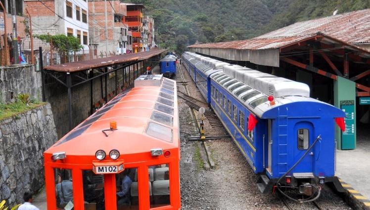Estação de trens de  Aguas Calientes