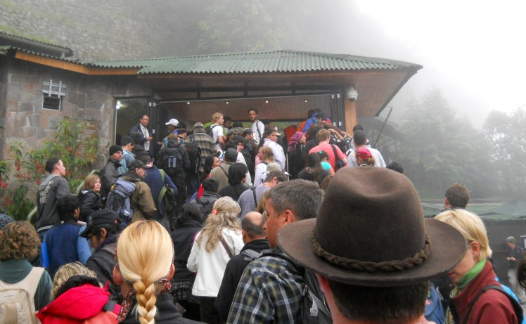 Entrada de Machu Picchu