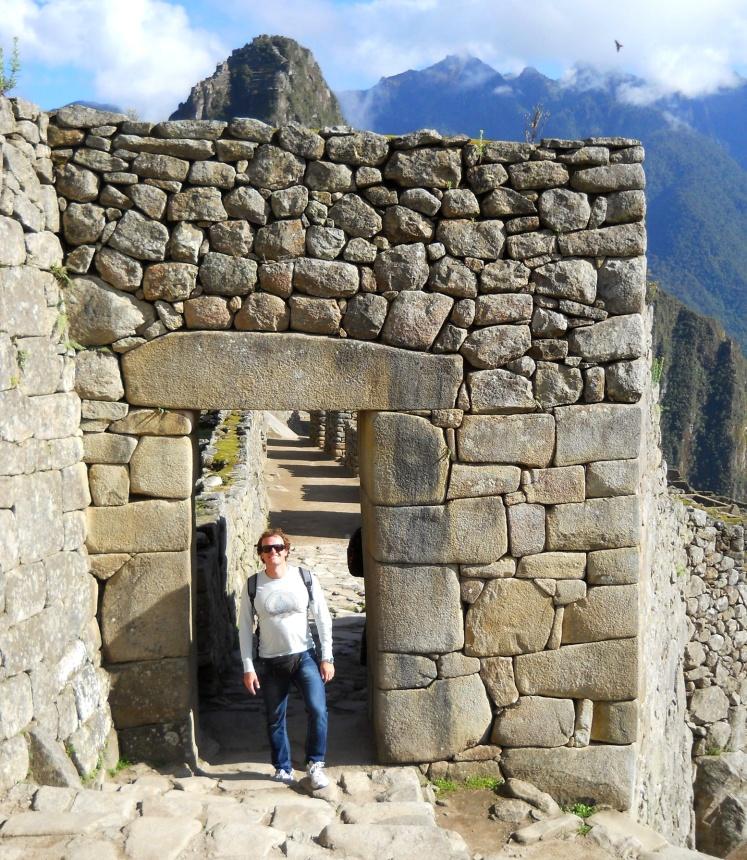 Porta da cidade Inca