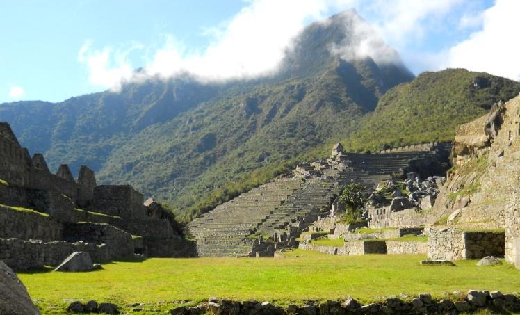 Plaza principal - Machu Picchu