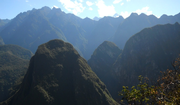 Visual da montanhas