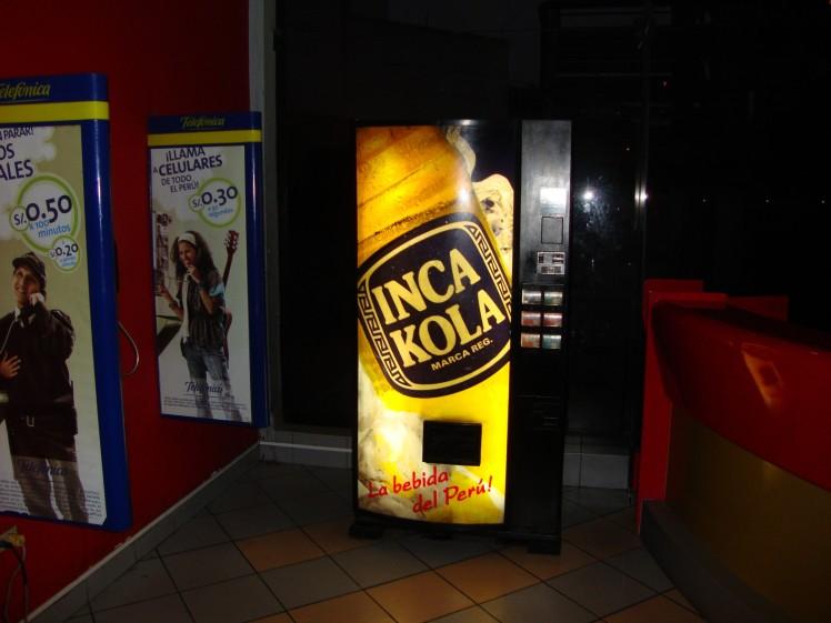 Inca Kola - Refrigerante peruano com gosto de chiclé !