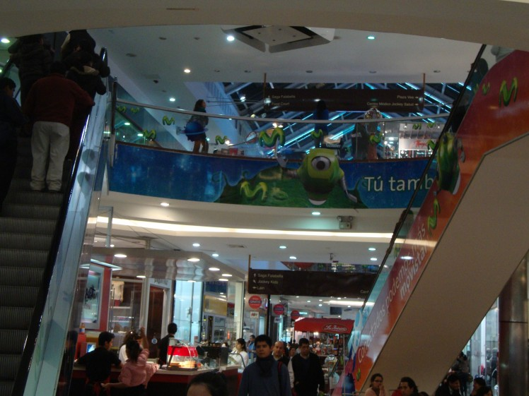 Shopping Jockey Plaza - Lima
