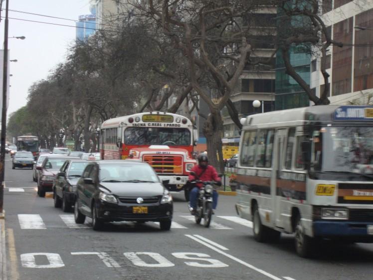 Transito em Miraflores