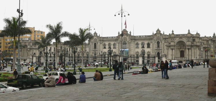 Palácio do Governo - Plaza de Armas