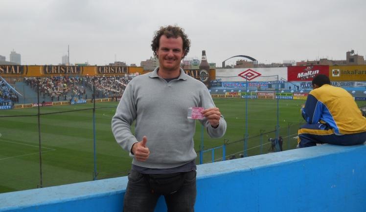Jogo Sporting Cristal x Universitario de Lima