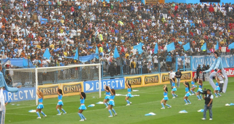Cheerleaders do Sporting Cristal