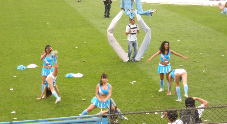 Cheerleaders do Sporting Cristal