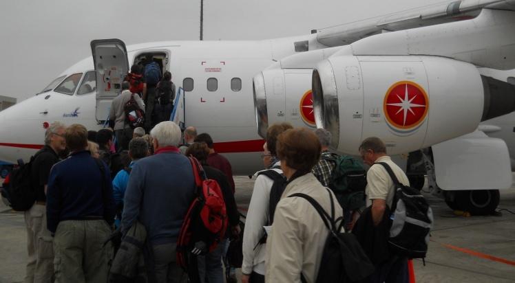 Embarque para Cuzco - Aeroporto de Lima