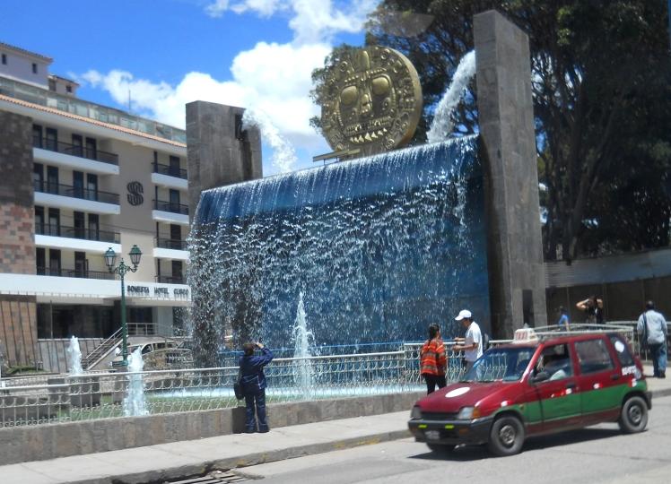 Chegada em Cuzco