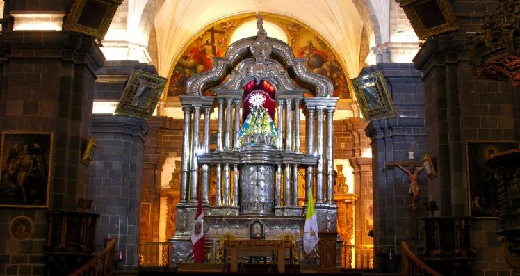 Altar de prata - Catedral de Cuzco