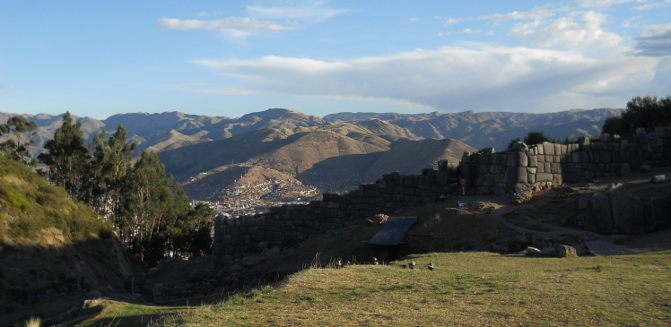 Cuzco vista de Saqsaywaman