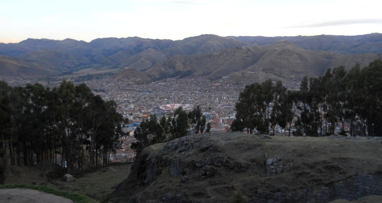 Cuzco vista de Q'enqo