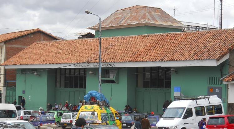 Estación San Pedro - Daqui saíam os trens para Machu Picchu