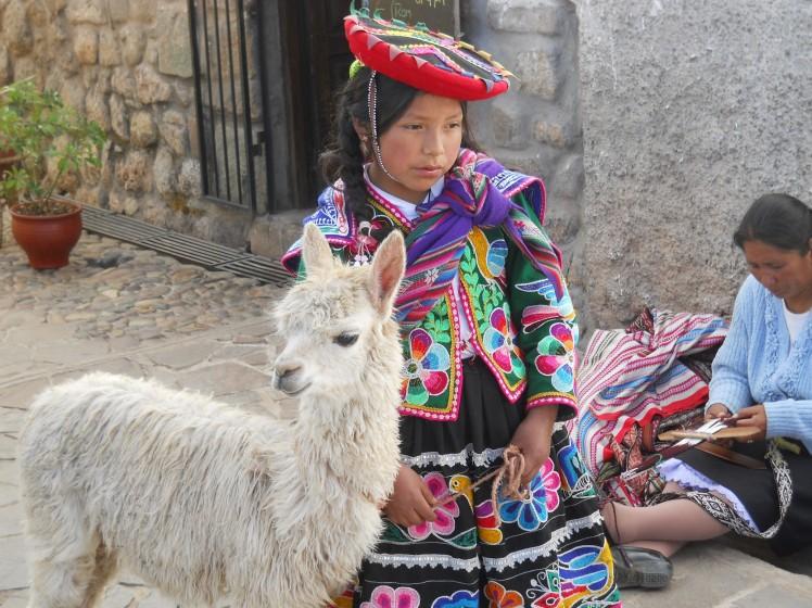 Llama e Cusqueña