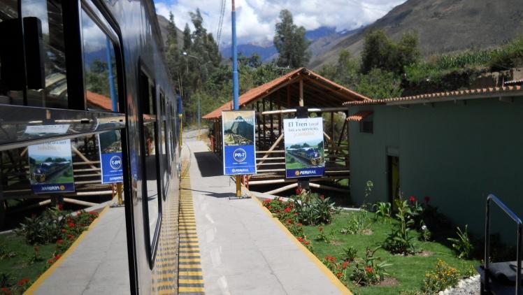 Estação de trens de Ollantaytambo