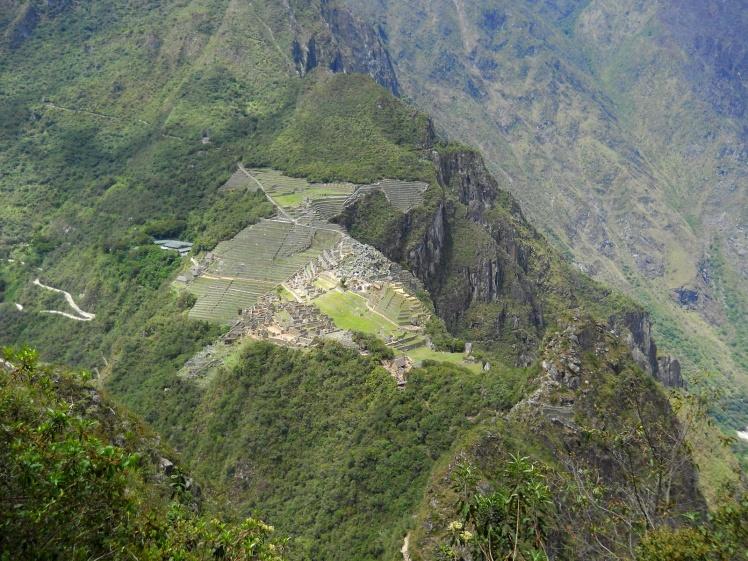Machu Picchu começa a ficar pequena