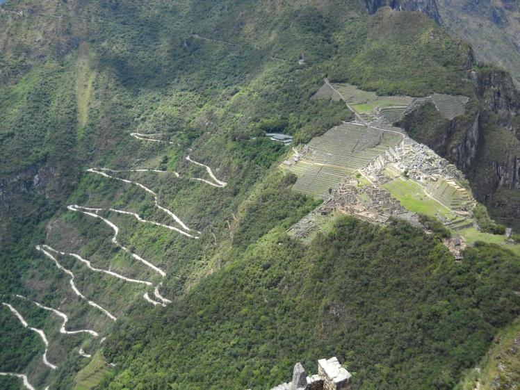 Machu Picchu vista de Waynapicchu