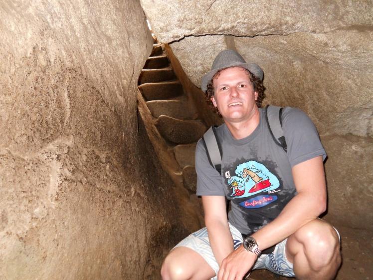 Labirintos em Waynapicchu