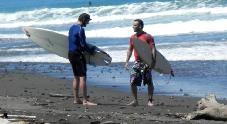 Tiburón e Bisotto em Pavones