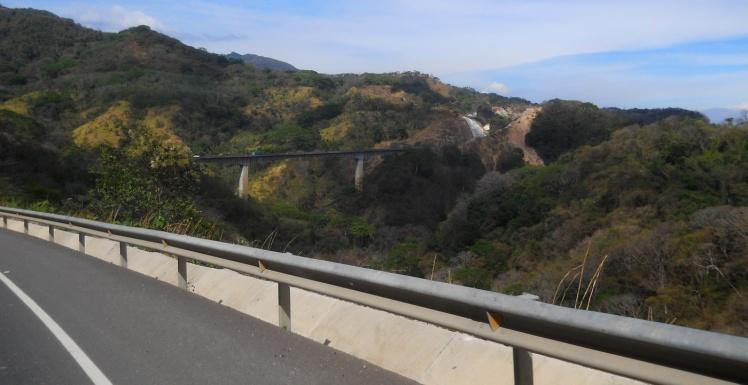 Na estrada a caminho do Vulcão Arenal