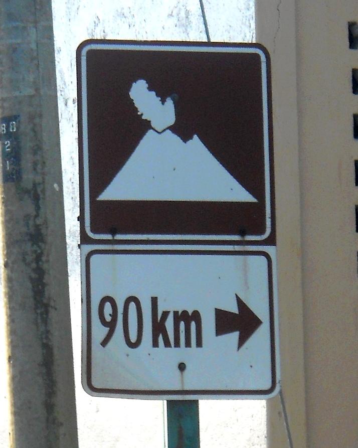 Indo para o Vulcão Arenal