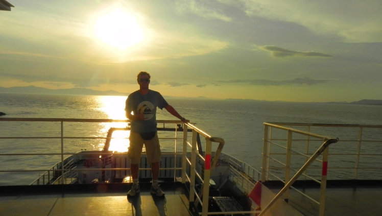Ferryboat de Puntarenas para Paquera