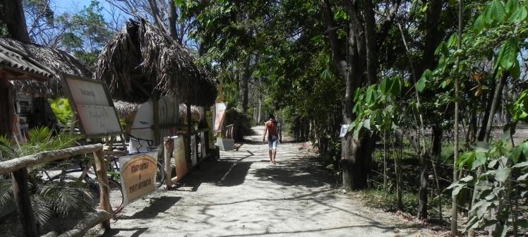 Caminho para Playa Santa Teresa