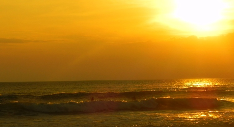 Por-do-sol em Playa Carmen