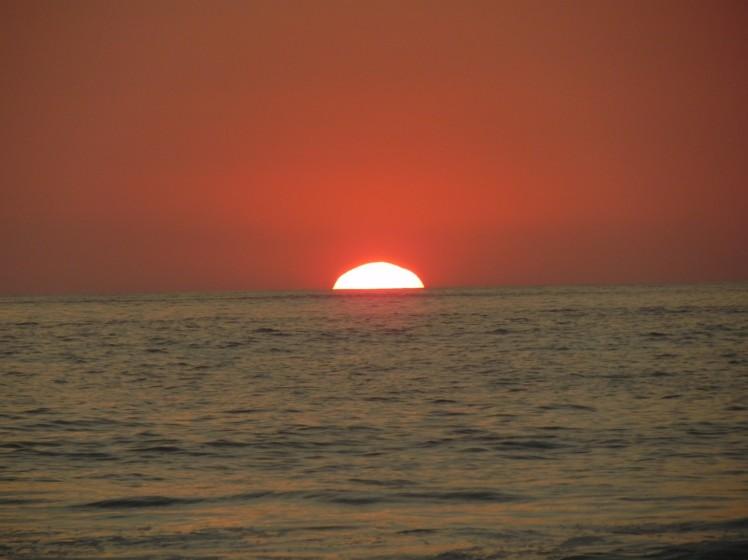 Por-do-sol em Avellanas