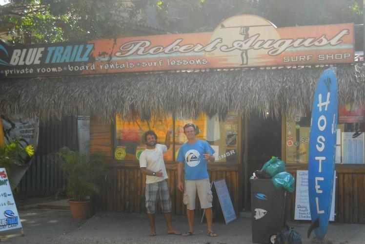 Loja do Robert August em Tamarindo