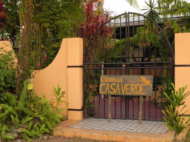 Puerto Viejo - Cabinas Casa Verde