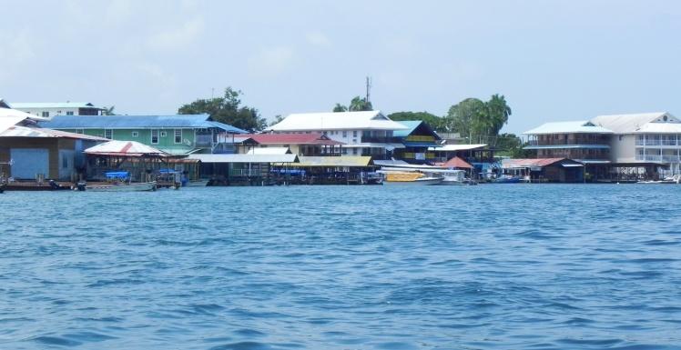 Chegando em Bocas