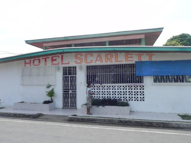 Nosso hotel em Bocas