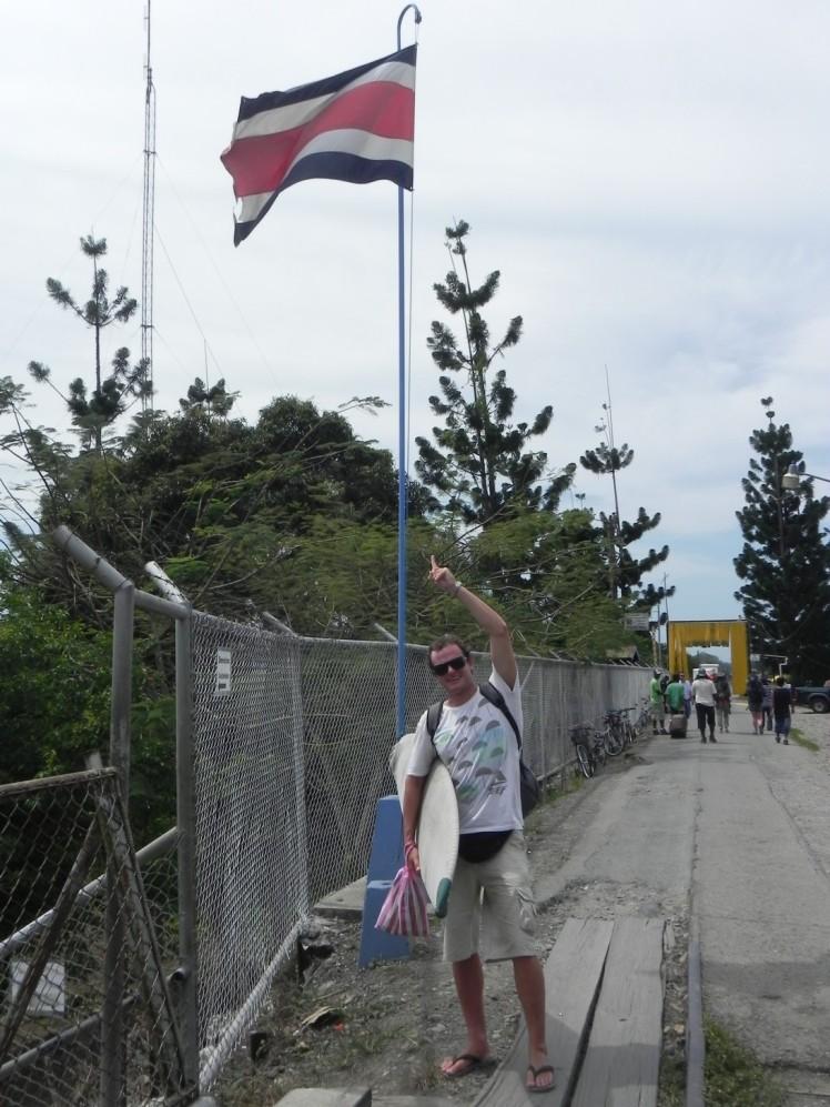 Voltando para a Costa Rica