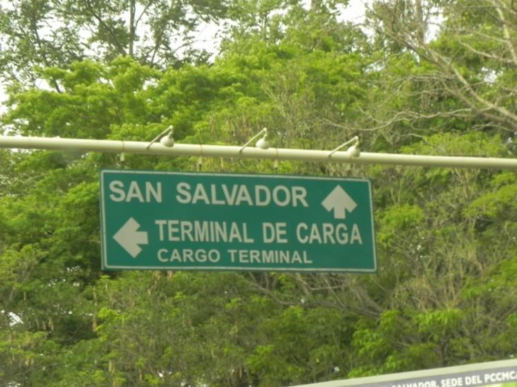 Chegamos em El Salvador