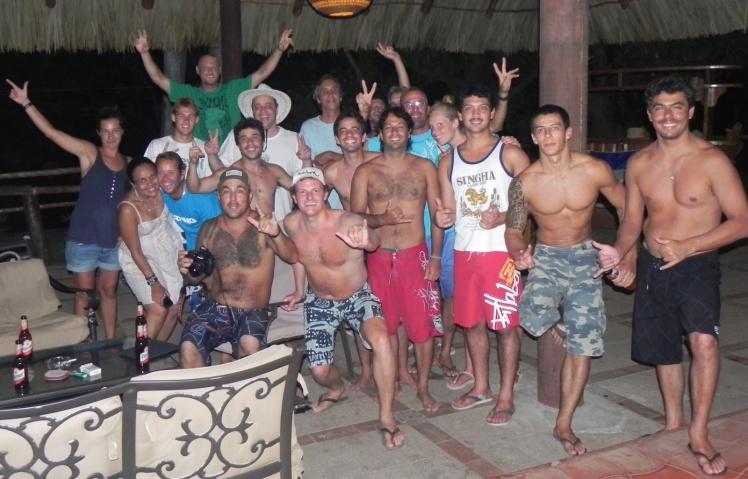 Galera no Hotel Atlakamani em Las Flores