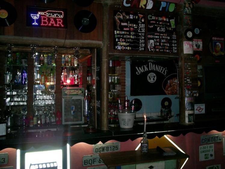 Bar do Hostel Maresias