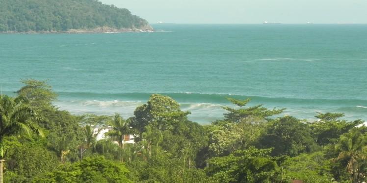 Vista de Camburi