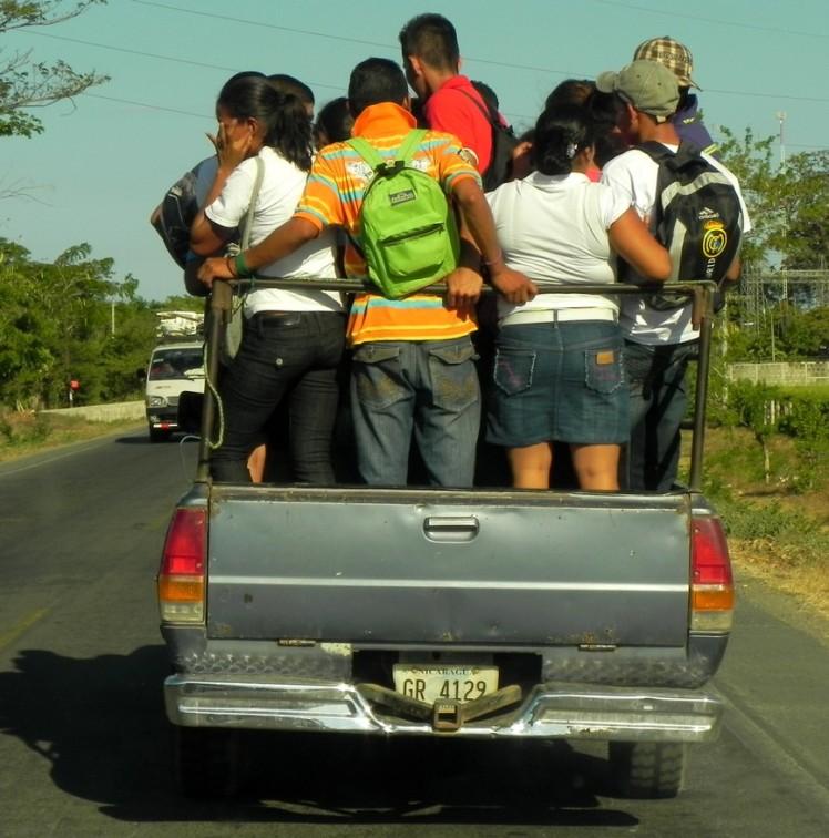 Transporte coletivo na Nica