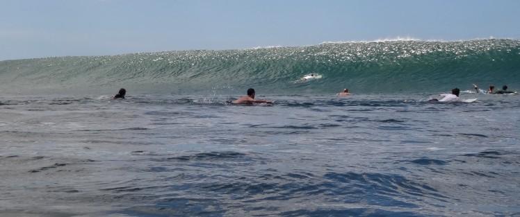 Altas ondas em Popoyo