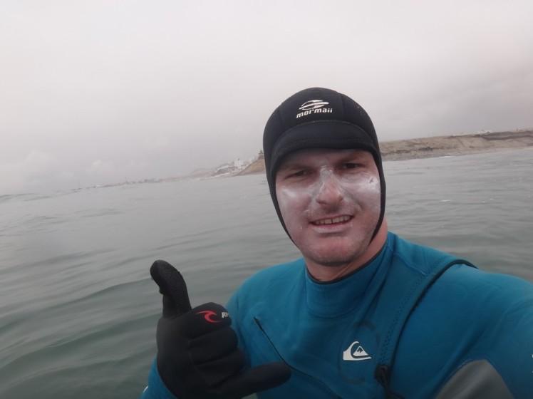 Tiburón Blanco en Punta Rocas!