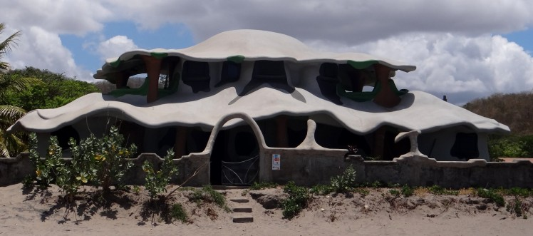 Casa dos smurfs em Popoyo