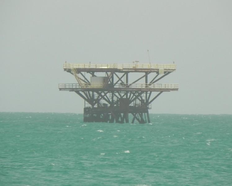 Plataformas de Petróleo em Lobitos