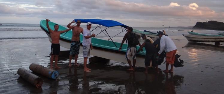 Boat-trip para Lances Left e Playgrounds