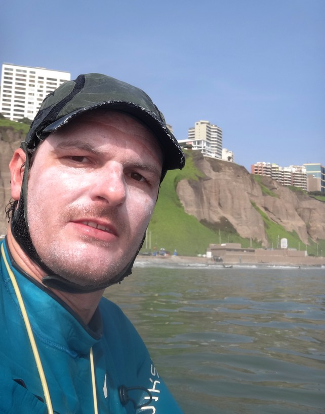 Tiburón Blanco en Lima !